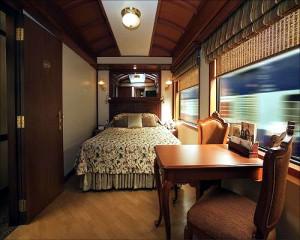 王公快车(Maharajas' Express)的豪华套房