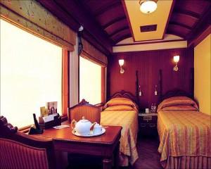 王公快车(Maharajas' Express)的简单套房