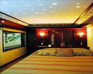 王公快车(Maharajas' Express)的总统套房