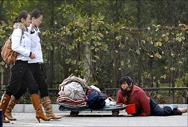 印度人看中国经济:北京使馆区的一条道路