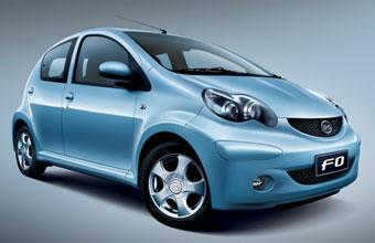印度网友看中国汽车:中国比亚迪F0汽车