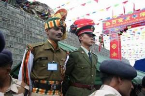 印度人看中印关系:中印边界上的双方士兵