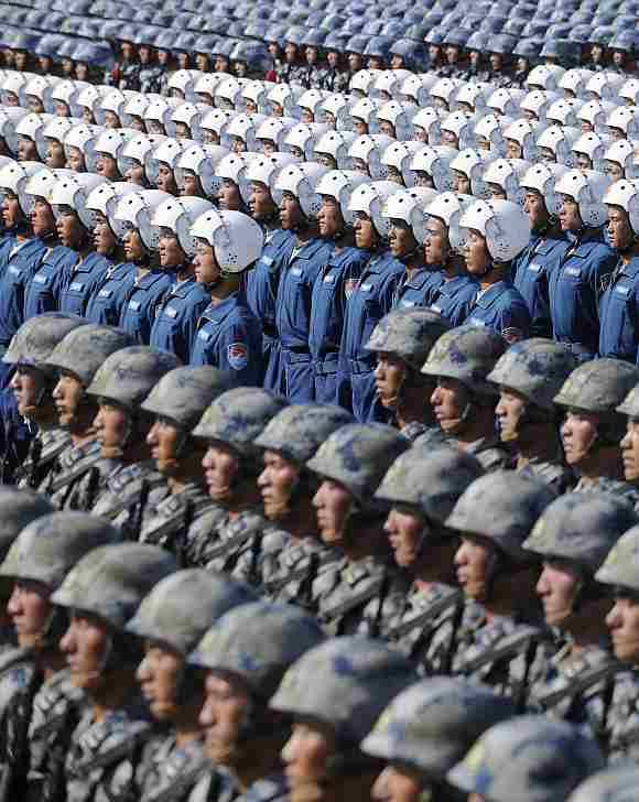 印度人看中国军队:中国士兵