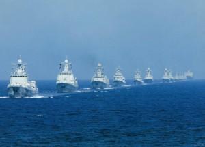 印度人看中国海军:中国海军舰艇编队