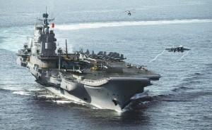 印度人看中国海军:中国航母效果图