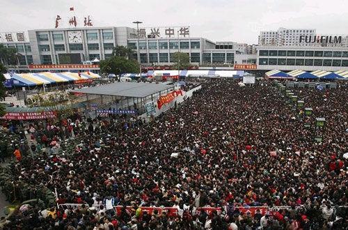 中国一年一度的春运