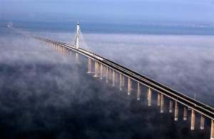 印度人在中国的经历:青岛胶州湾跨海大桥