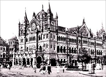 印度人看上海:孟买维多利亚火车站(Victoria Station)
