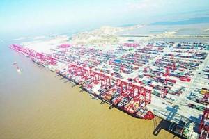 印度人看中国统治世界十大港口:上海洋山港