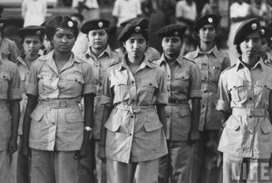 印度人看1962年中印战争:中印战争期间的印度女兵