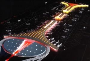 印度人在中国:北京首都国际机场T3航站楼