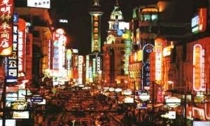印度人逛上海南京路