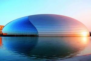 印度人在中国旅游:北京国家歌剧院