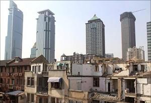 印度人看中国贫富分化:上海市区