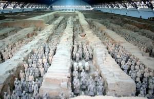 印度人参观秦始皇陵兵马俑