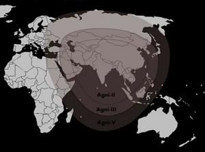 印度烈火5导弹射程超过5000公里