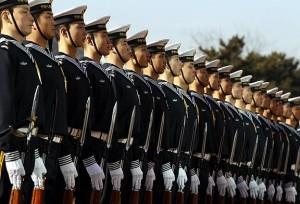 印度和中国:中国军队
