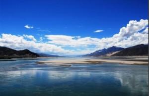 印度和中国:雅鲁藏布江