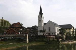 广东惠州:山寨版的奥地利哈斯塔特镇