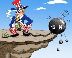 美国债务不堪重负,中国外债是否健康