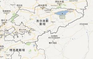 喀什离比什凯克和阿拉木图比较近