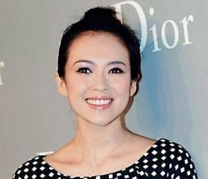 中国著名女演员章子怡起诉香港《苹果日报》造谣