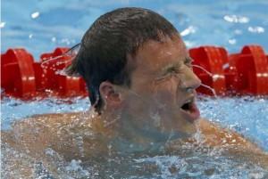 伦敦奥运会男子200米自由泳决赛:孙杨获银牌,罗切特无缘奖牌