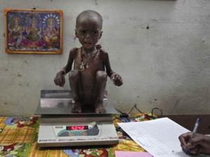 印度的贫穷问题不容忽视