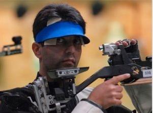 北京奥运会射击冠军印度名将阿比纳夫·宾德拉(Abhinav Bindra)预赛爆冷出局