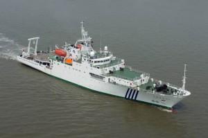 中国海监83号,排水量3980吨