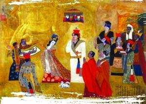 中国史书记载,唐太宗的女儿文成公主嫁给藏王松赞干布。文成公主从唐朝首都行程3000多公里,才到达她在xz的新家