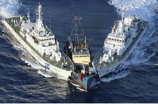 香港保钓人士登钓鱼岛