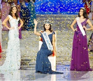 2012年世界小姐选美大赛冠军于文霞
