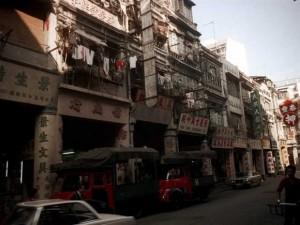 40年前的香港:皇后大道中