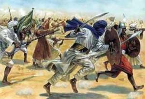 阿拉伯帝国军队(公元7世纪至9世纪)