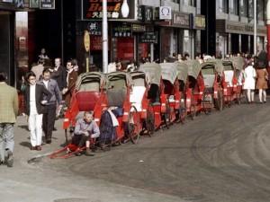 1972年的香港:到处是人力车