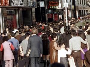 香港1972年的街头生活