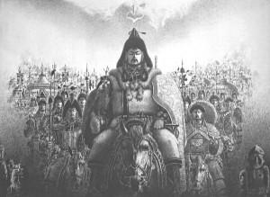 匈奴骑兵(公元前3世纪至公元前2世纪,冒顿单于时代)
