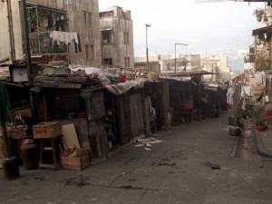 香港40年前的贫户区