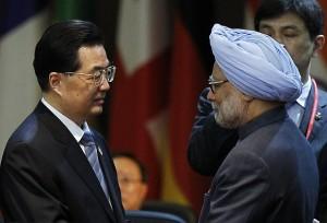 中国主席和印度总理