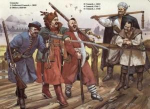 俄罗斯哥萨克骑兵(公元17世纪至20世纪)