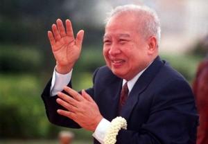 柬埔寨前国王诺罗敦·西哈努克(Norodom Sihanouk)
