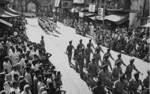 1962年中印冲突,印度军队集结开进