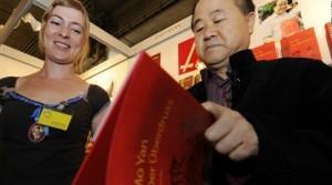 中国作家莫言获得2012年诺贝尔文学奖