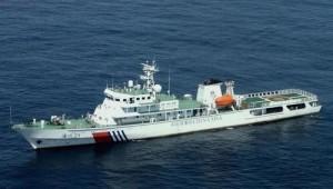 """""""海巡21""""素有""""中国海事第一船""""的美称"""