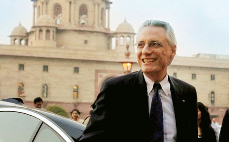 意大利大使达尼埃尔·曼奇尼(Daniele Mancini)