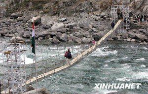 克什米尔地方领导人称中国占领着克什米尔的部分地区
