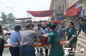 xj巴楚县发生暴力恐怖案件 15人被害